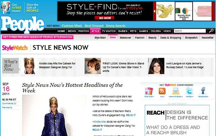 PeopleStyleWatch StyleNews Website
