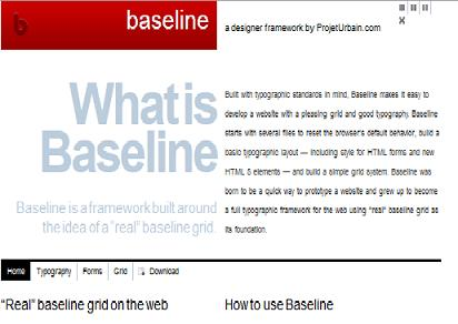 Preview of Baseline CSS  system