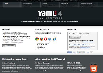 Preview of  Yaml framework  system