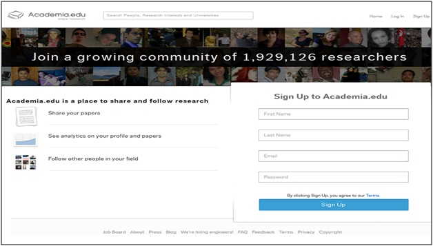 Academia.edu Social Network