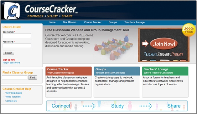 Course Cracker Social Network