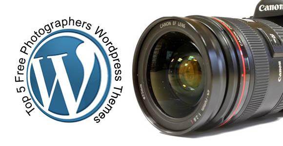 Free Photographers Wordpress Themes