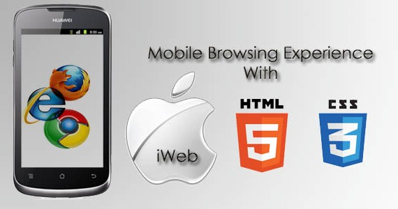 Mobile Browsing Experience with HTML5, CSS3 and iWeb App Templates