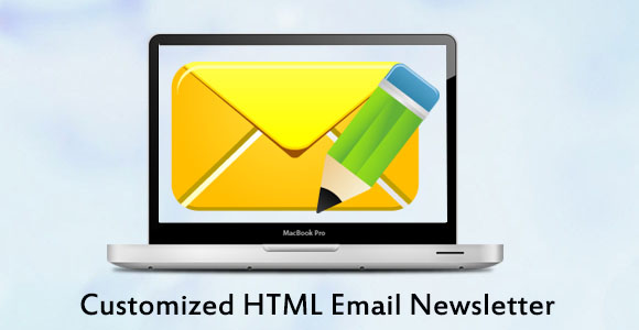 Customized HTML Email Newsletter