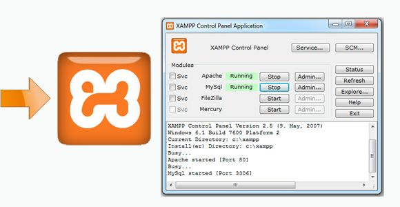 Install OsCommerce on XAMPP localhost in 4 simple steps