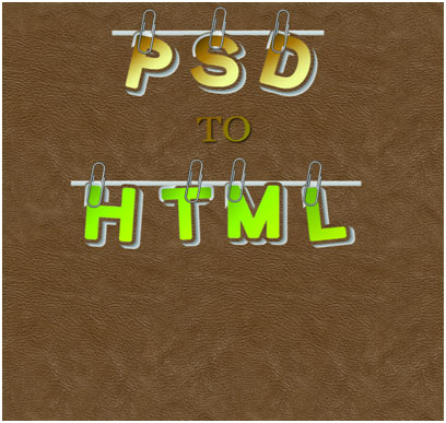 PSD to HTML Conversion: A Detailed Tutorial on Mouse Hovering Effect