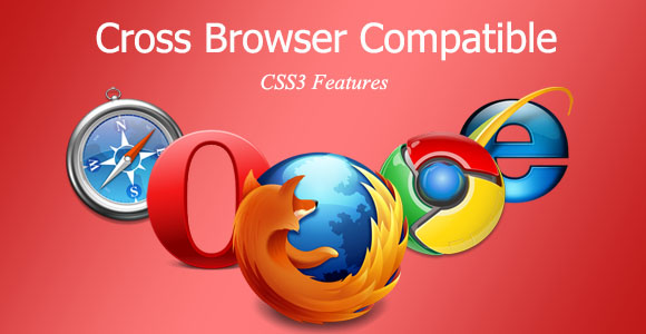 Cross Browser Compatible -CSS3 Features