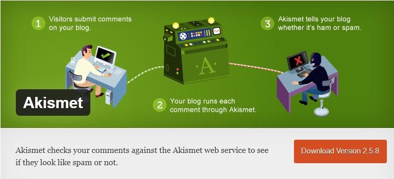 Akismet - WordPress Plugin
