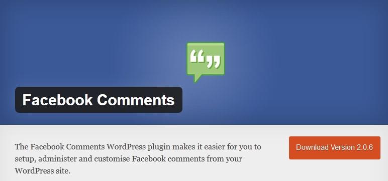 Facebook Comments - WordPress Plugin