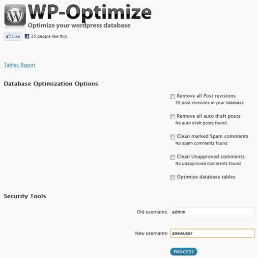 WP-Optimize - WordPress Plugin