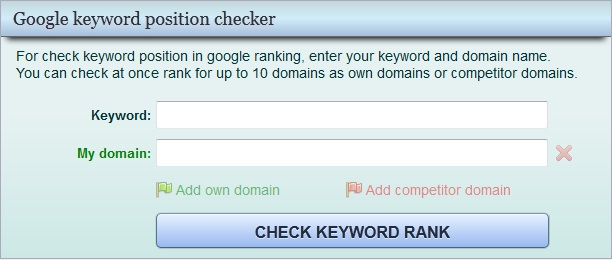 google-keyword-rank-checker