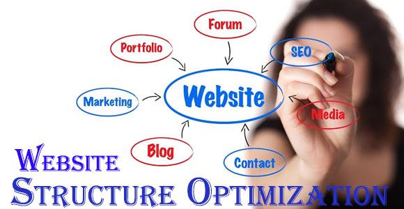 website structure optimization