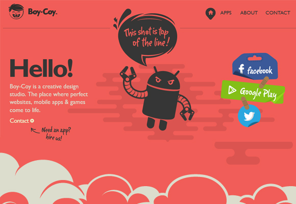 boy-coy-parallax-scrolling-website