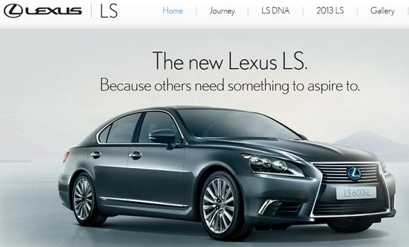 lexus-ls-parallax-scrolling-website