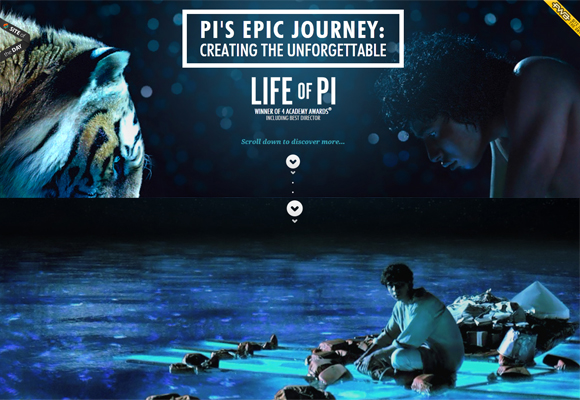 15 Awesome Websites with Parallax Scrolling