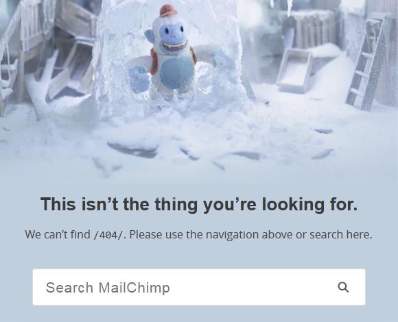mailchimp.com - 404 Error Page