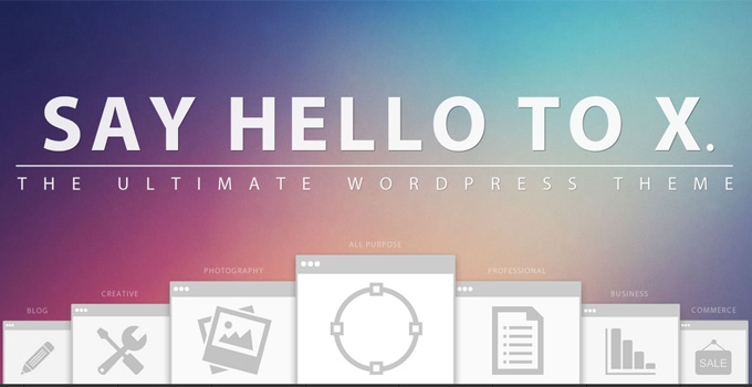 WordPress X Theme