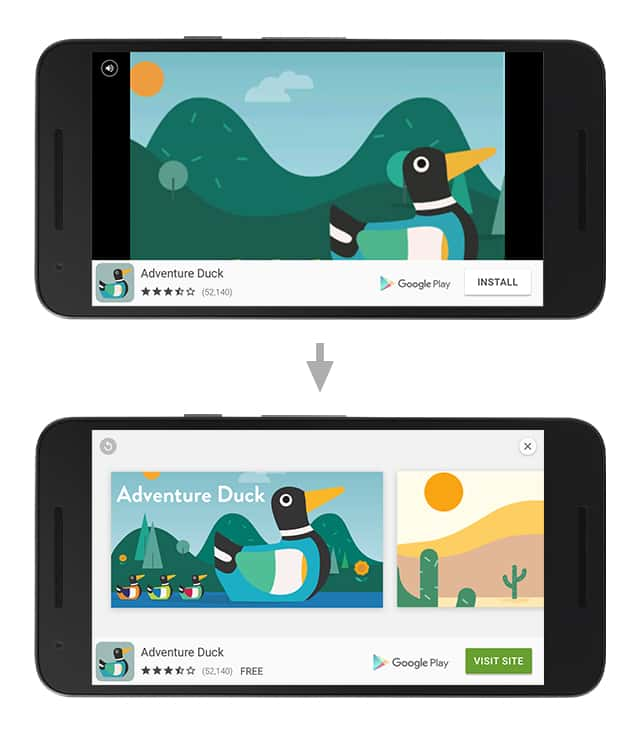 App Ad Example