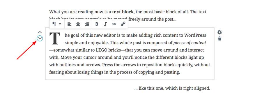 WordPress 5.0 - Block-based Writing