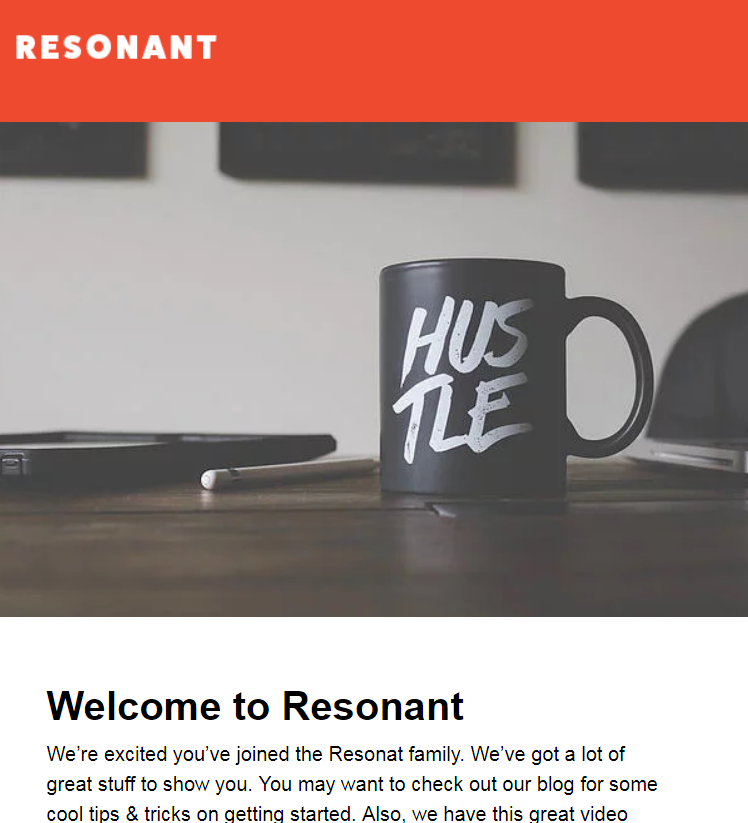 Resonant - Responsive Email Template