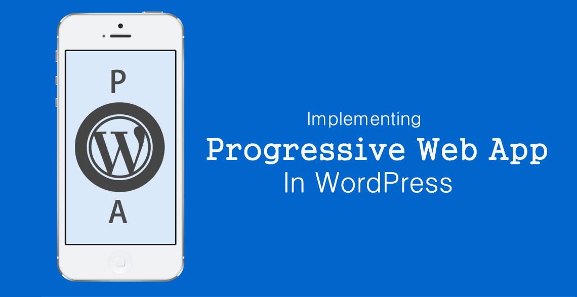 WordPress Progressive Web App