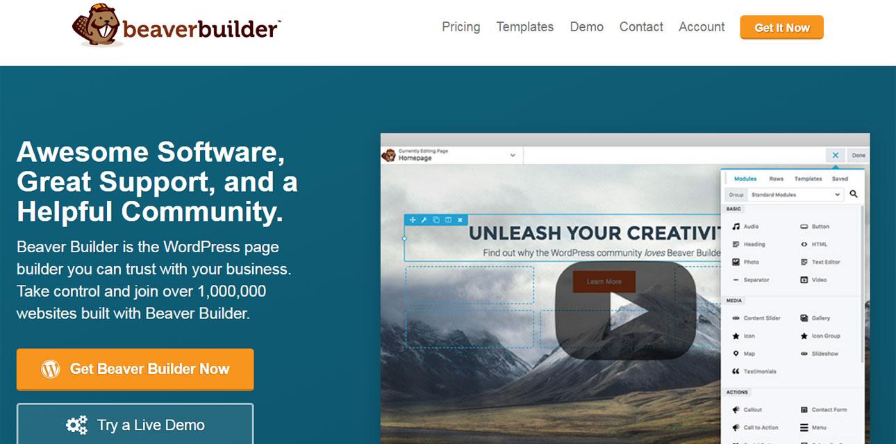 Beaver Builder - WordPress Landing Page Plugin