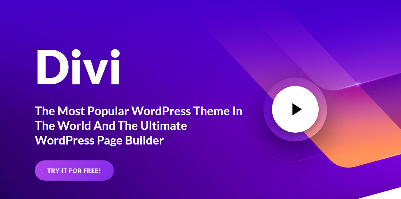 Divi - WordPress Landing Page Plugin