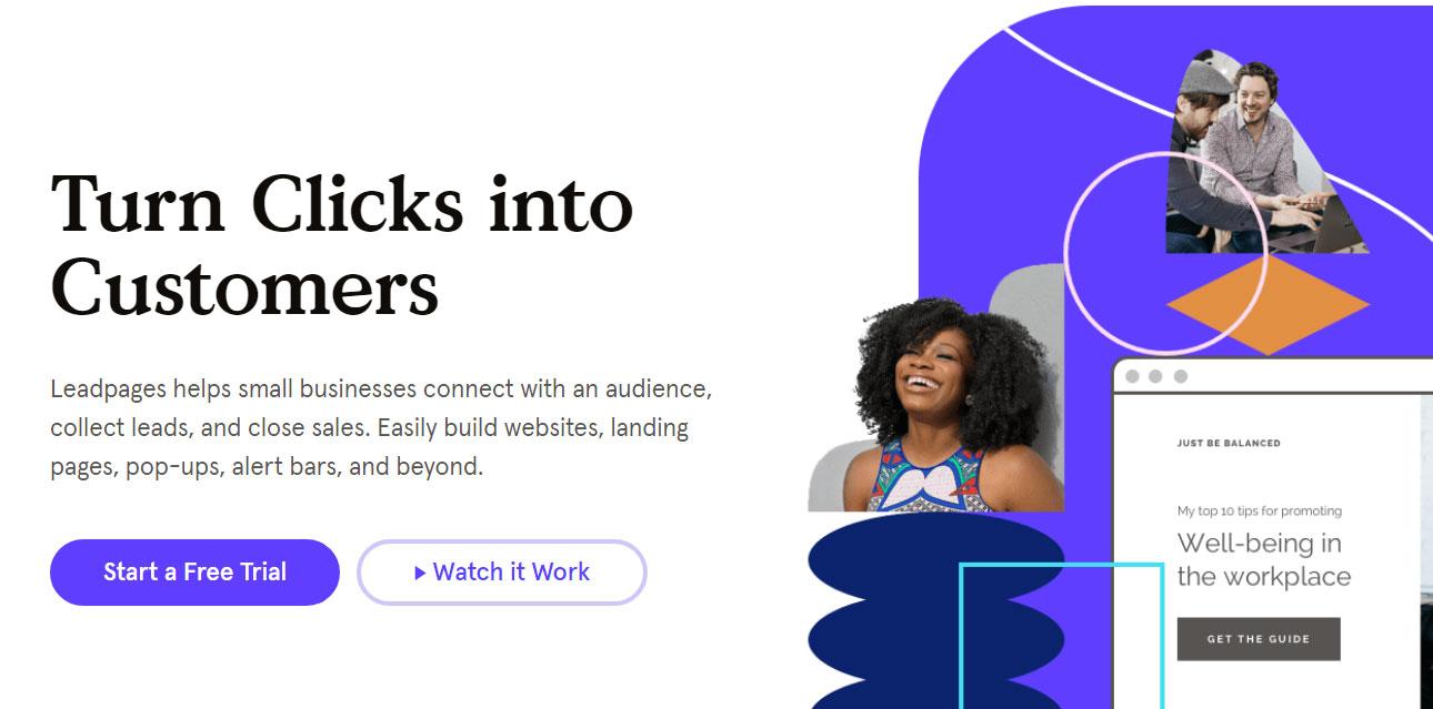 Leadpages - WordPress Landing Page Plugin