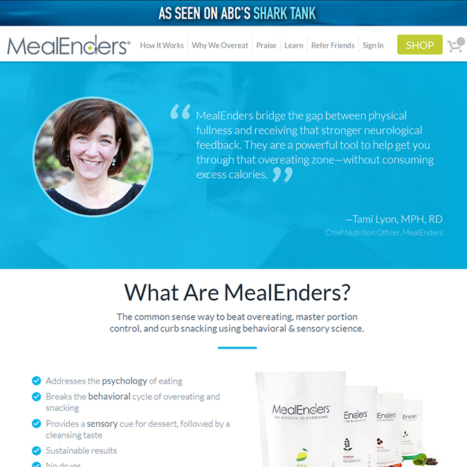 Mealenders - PSD to Wordpress - Xhtmljunction's client